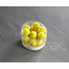 Pop up plovoucí boilies, žluté neutrál